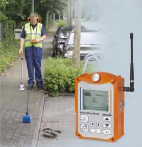 elektronik cihaz ile kırmadan su kaçağı tespiti